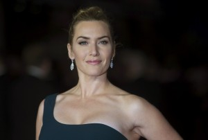 "Cast member Kate Winslet poses for photographers at the closing night premiere of the film ""Steve Jobs"" at the BFI London Film Festival October 18, 2015. REUTERS/Neil Hall - RTS4ZYF"